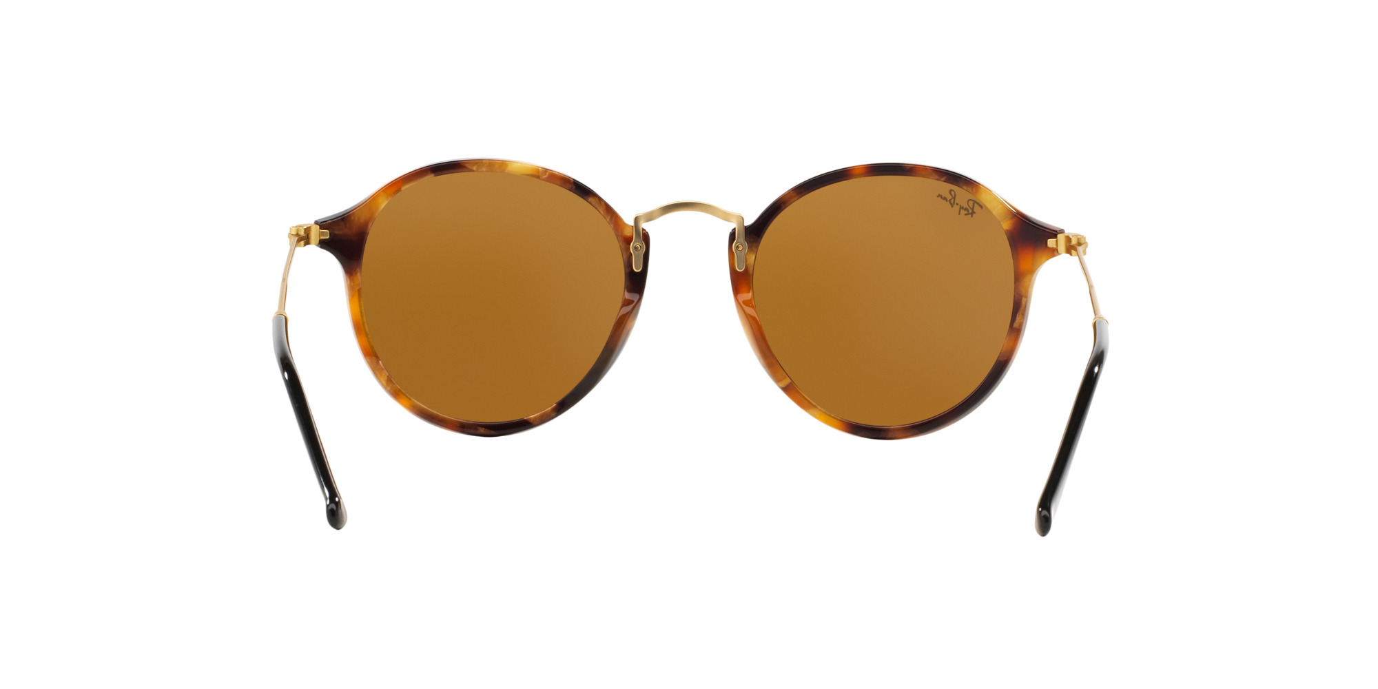 34f336b8a2 Ray Ban Round Fleck Spotted Brown Havana lente Brown cod....