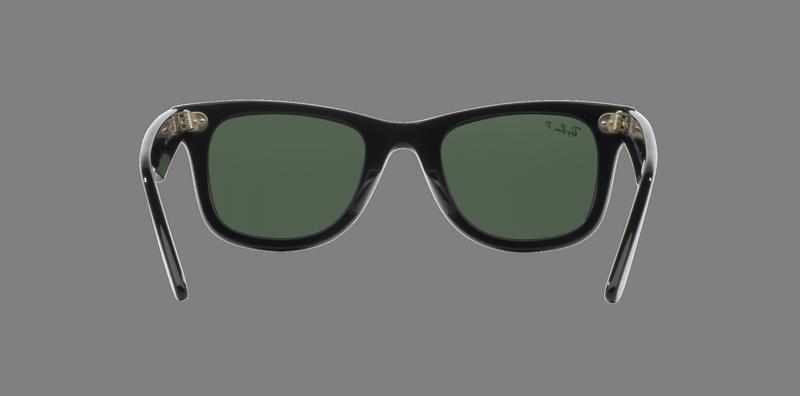 f872bdf413 Ray Ban Wayfarer Black lente Crystal Green Polarized cod....