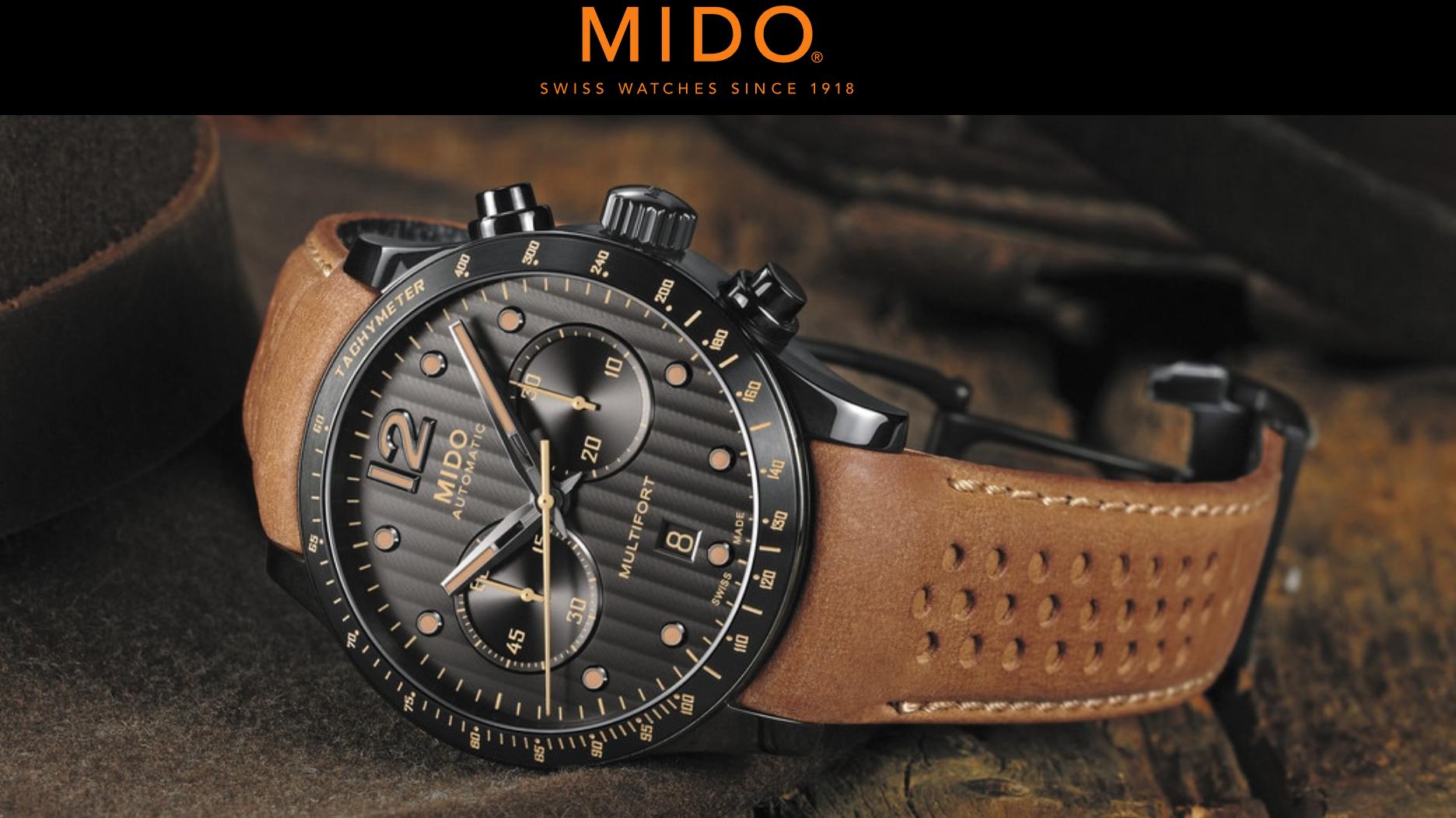 Mido - Made in Switzerland