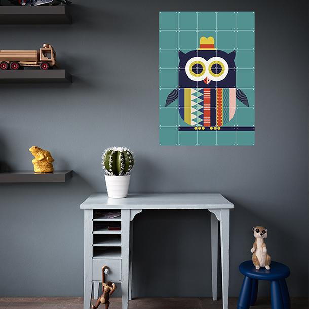 Mural Infantil Owl