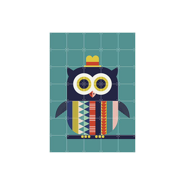Mural Infantil Owl - image hover