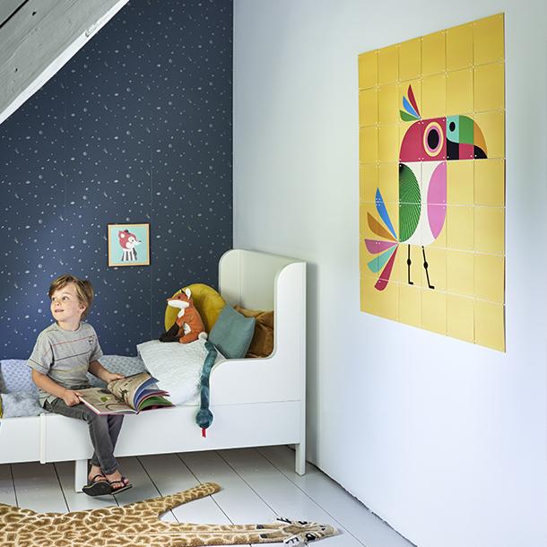 Mural Infantil Bird