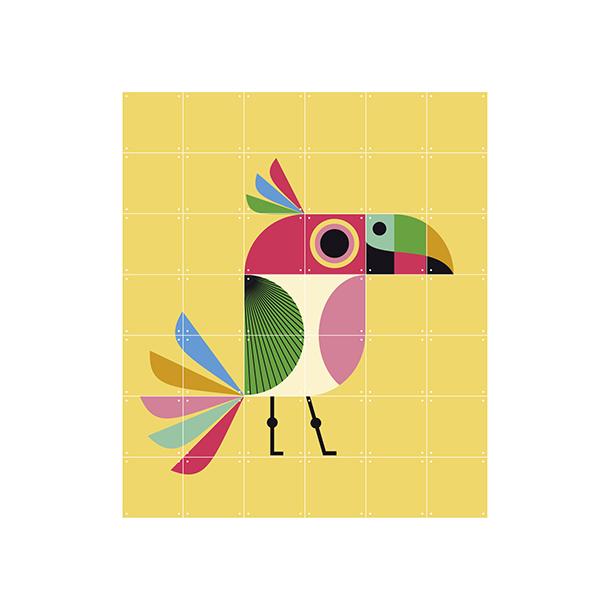 Mural Infantil Bird - image hover