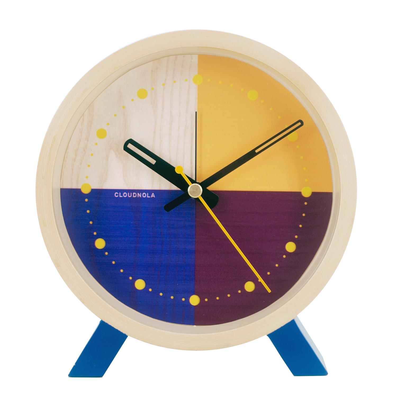 Reloj Flor Blue Desk