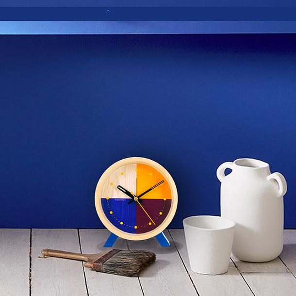 Reloj Flor Blue Desk - image hover