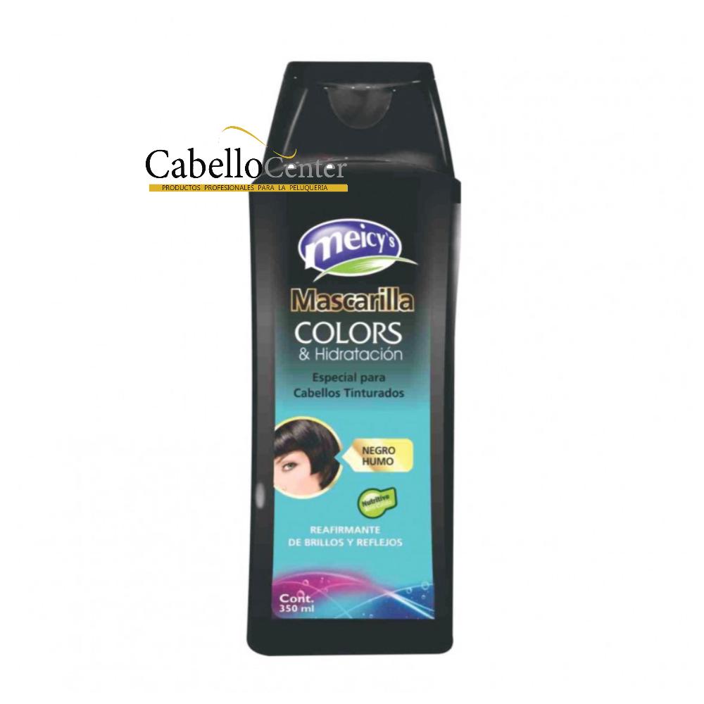 Mascarilla Colors Negro Humo 350ml