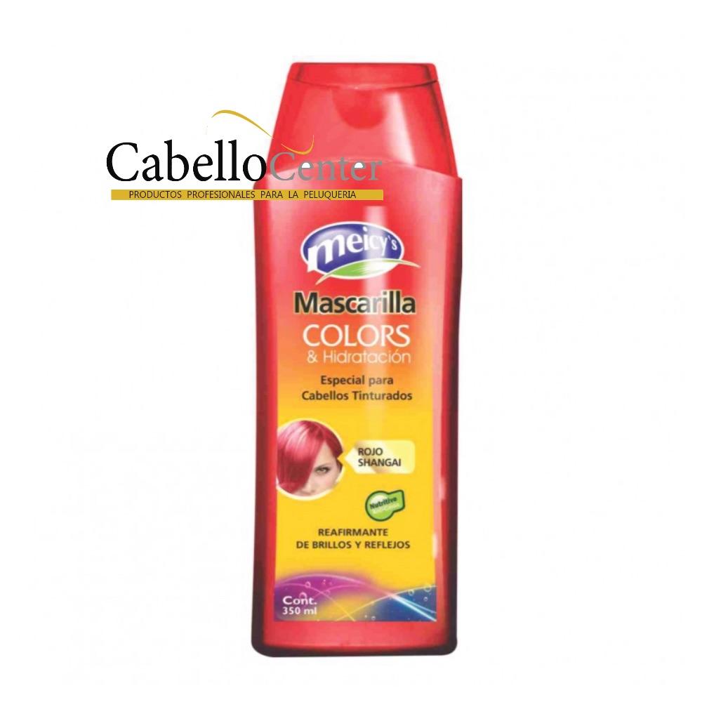 Mascarilla Colors Rojo 350ml