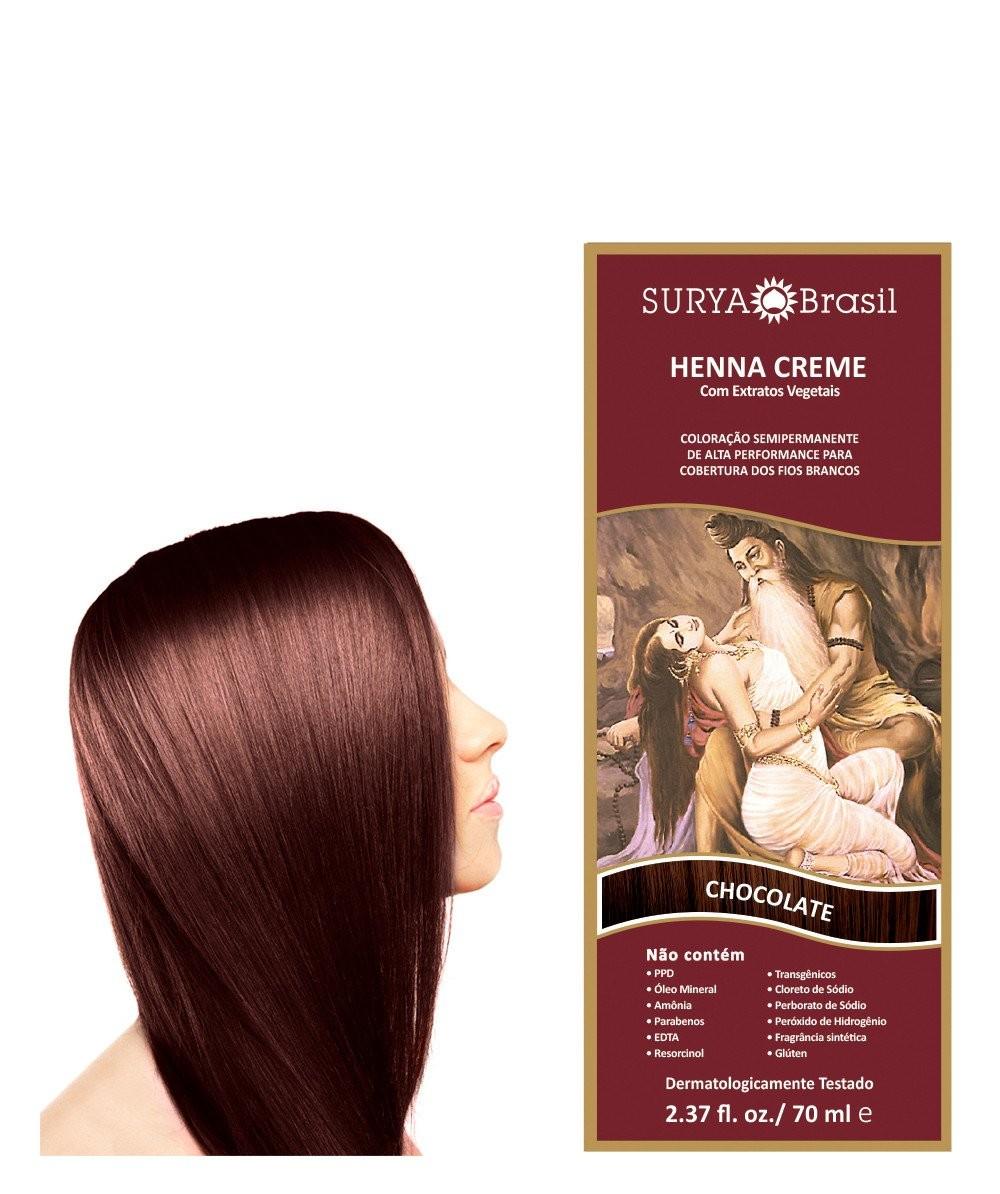 Hennas Surya 70ml Chocolate