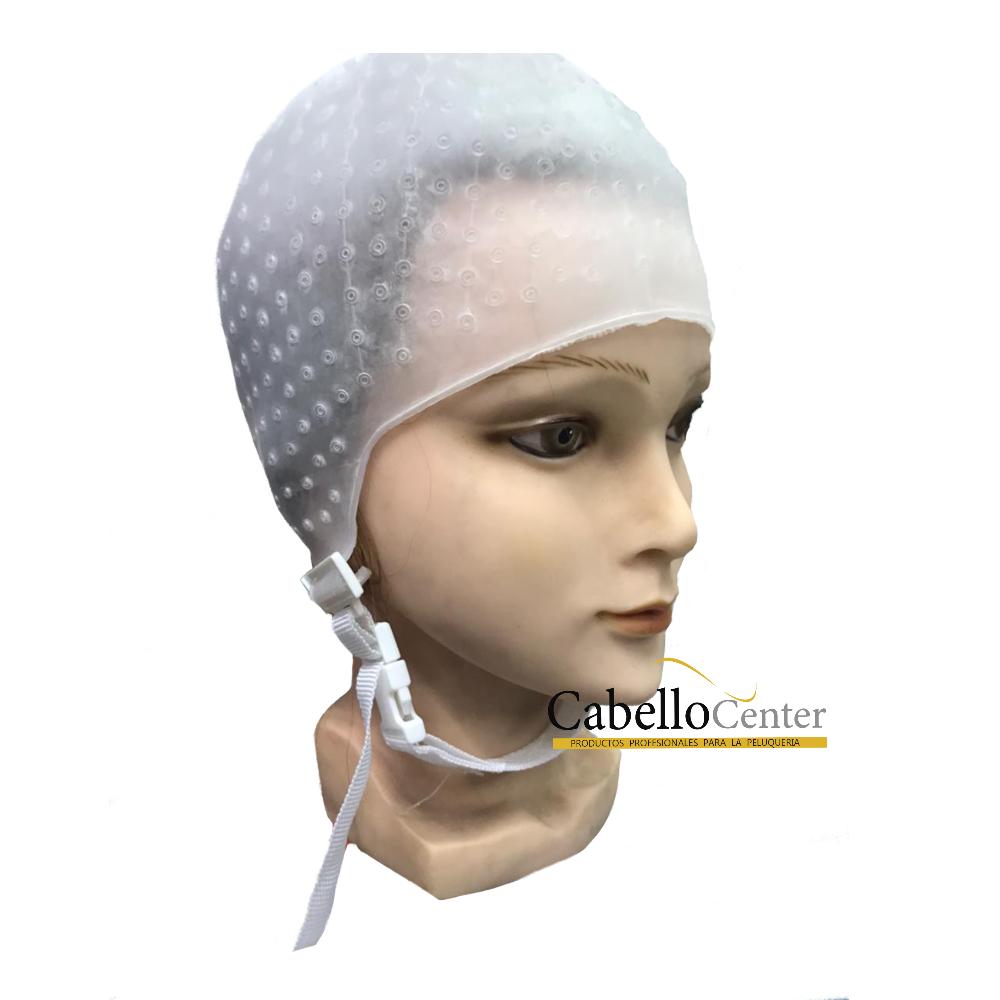 Gorro visos Silicona con Amarre