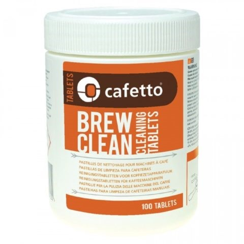 Tabletas Brew Clean CAFETTO