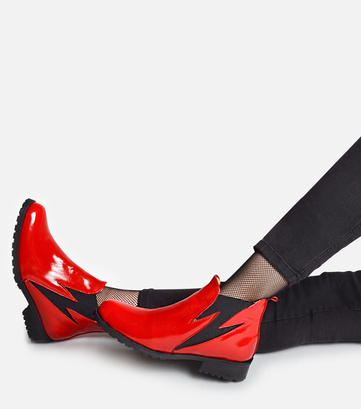 Bowie plano rojo
