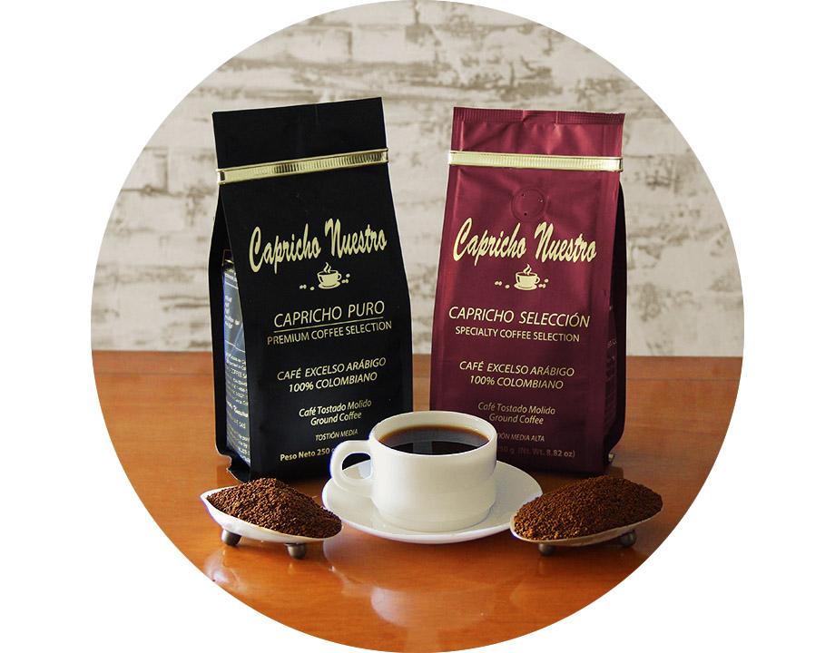 Café Puro Molido + Café Selección Molido 250g c/u