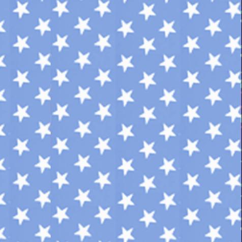 Mantel ⚫ ESTRELLAS en AZUL CLARO diámetro 150cm [enstockpara envíooretiro]