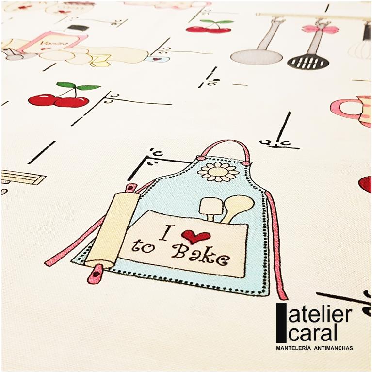 Mantel BAKERY Rectangular 1,8x3,2 m [porconfeccionar] [listoen5·7días]