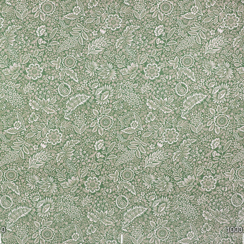 Mantel FLORAL VERDE Rectangular 1,5x2,1 m [porconfeccionar] [listoen5·7días]