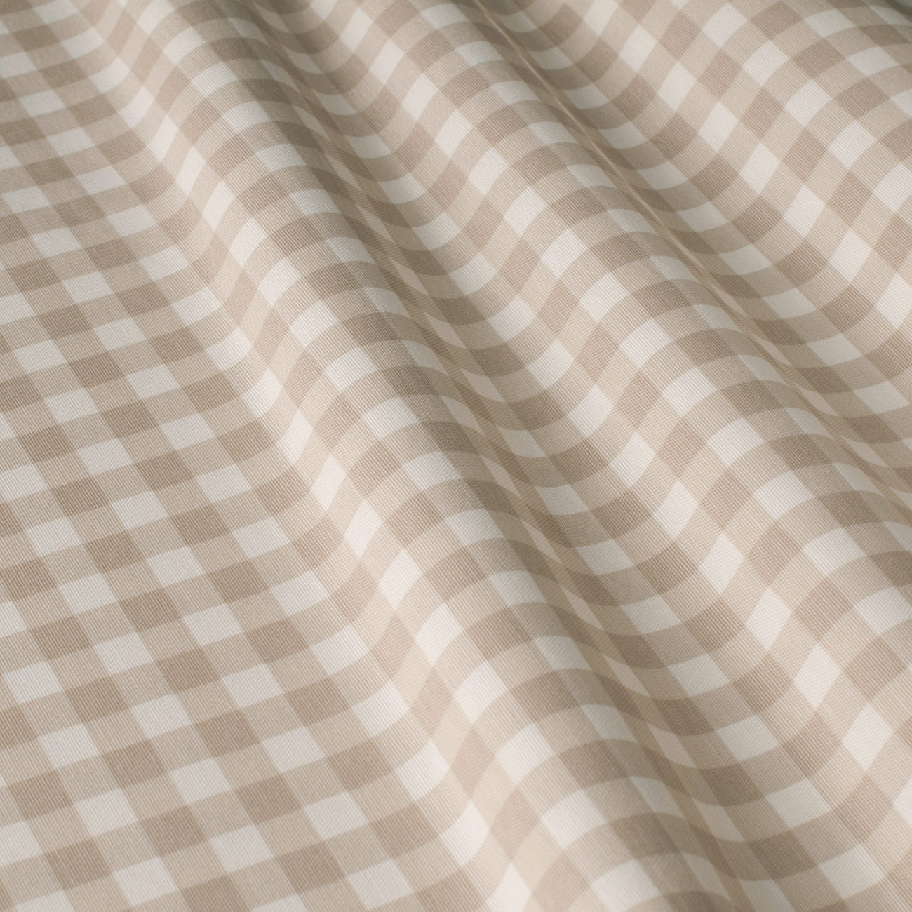 Mantel BISTROTBEIGE Cuadrícula1,3cm Rectangular 1,2x1,7m [enstockpara envíooretiro]