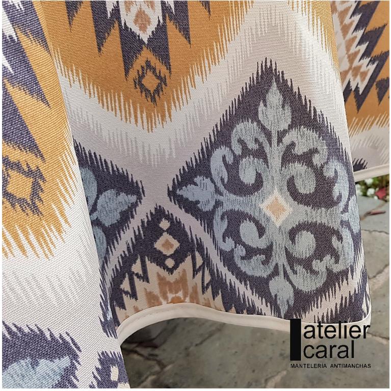 Mantel KILIMGRIS Rectangular 1,2x1,7m [enstockpara envíooretiro]