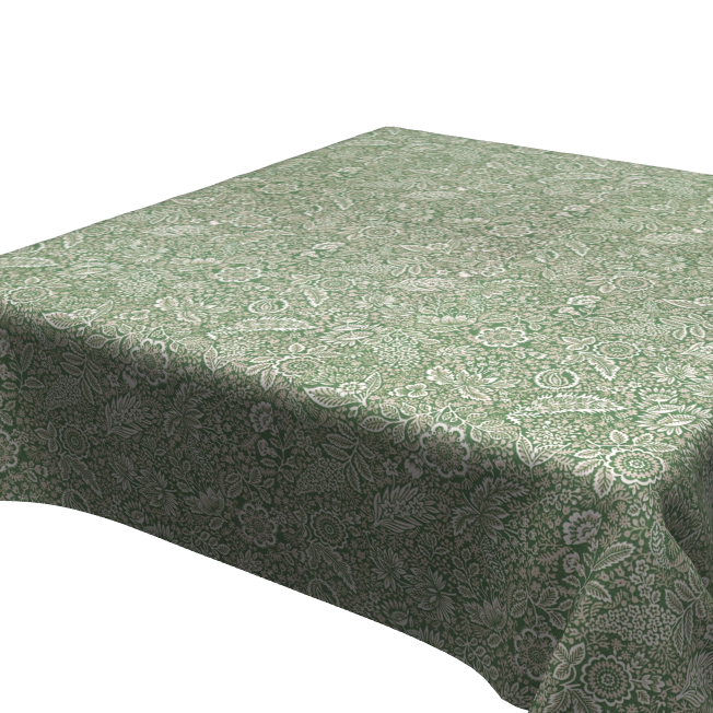 Mantel ⬛ FLORALVERDE ·1,5x1,5m· [enstockpara envíooretiro]