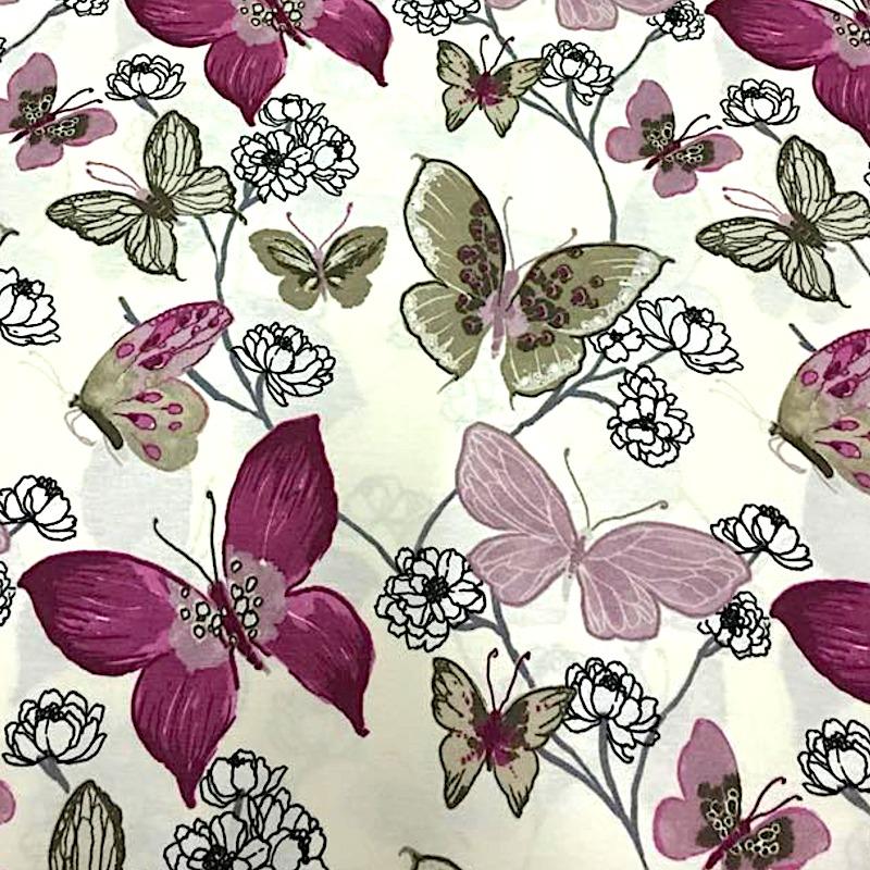 Mariposas Acuarela - Lila