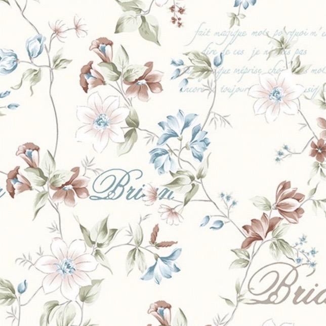 Mantel ROSES for BRIAN TURQUESA · Rect 12 Sillas