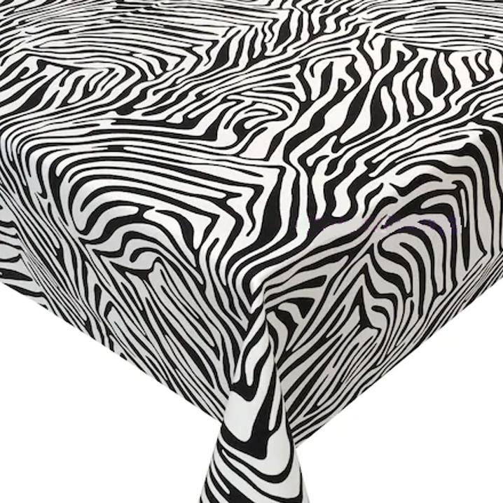 Mantel CEBRA NEGRO Rectangular 1,5x2,4m [enstockpara envíooretiro]