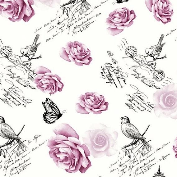 Rosas y Trinos Lila
