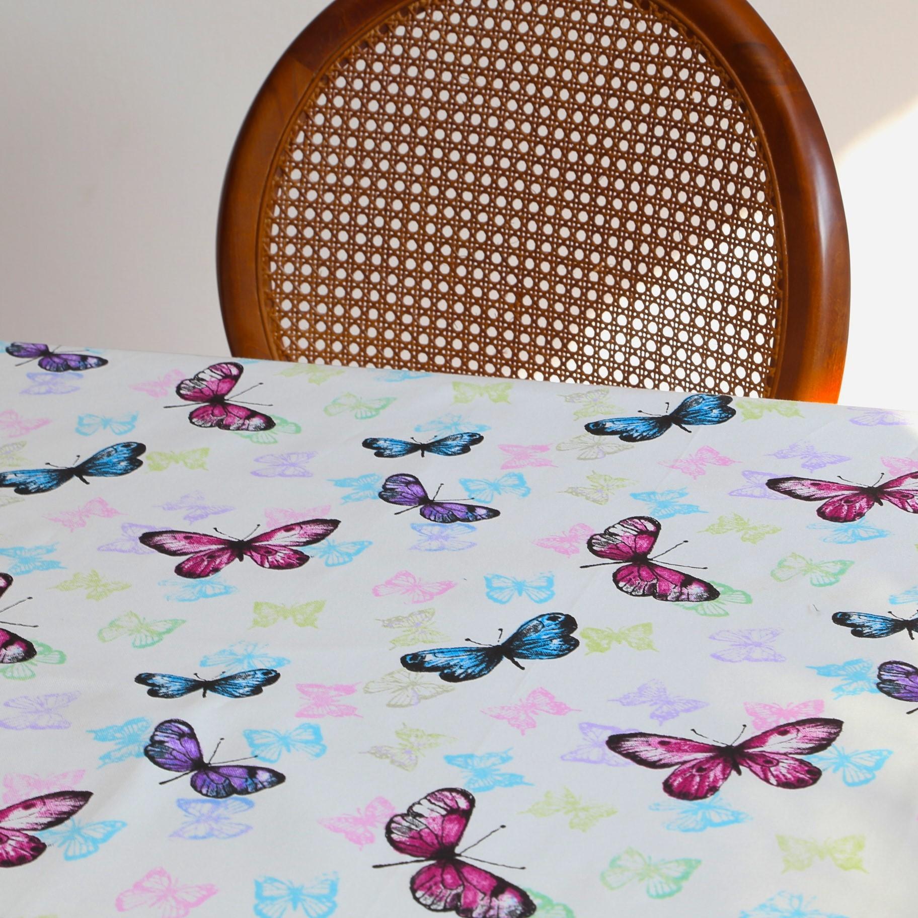 Mantel MARIPOSAS Rectangular 1,8x2,7m [porconfeccionar] [listoen5·7días]