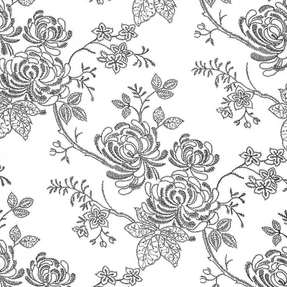 Floral Amandina Gris