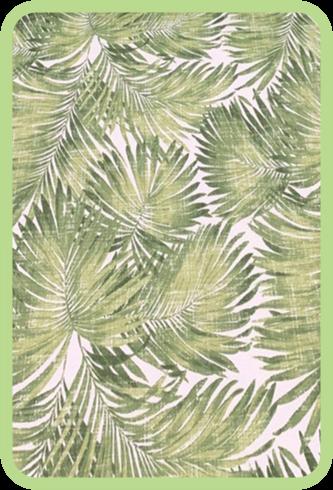 Mantel a Pedido - Carolina Ovalle - Palmeras Verde