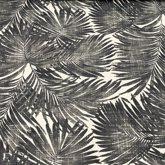 Mantel PALMERASNEGRO Rectangular 1,8x3,2 m [porconfeccionar] [listoen5·7días]
