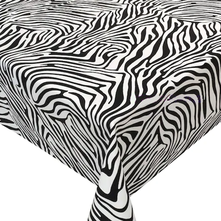 Mantel CEBRA NEGRO Rectangular 1,5x2,1m [enstockpara envíooretiro]