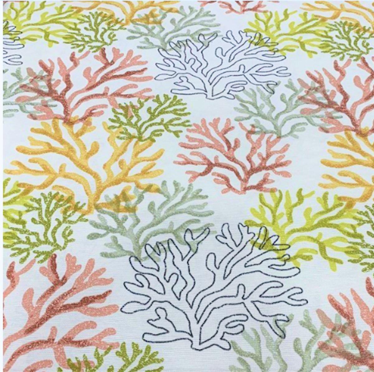Mantel CORAL Multicolor · Rectangular 6 sillas