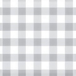 Mantel BISTROT GRIS Cuadros Grandes · Rectangular 4 Sillas