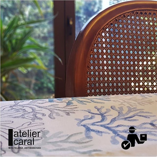 Mantel CORALAZUL Rectangular 1,5x2,1 m [retirooenvíoen 5·7díashábiles]