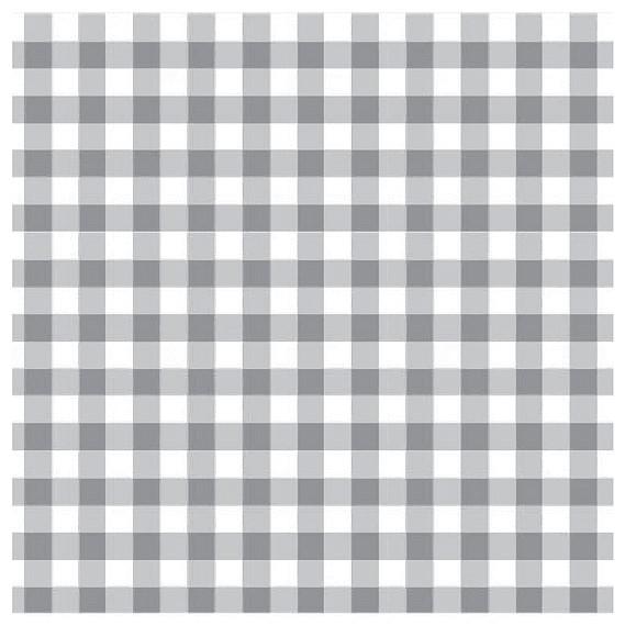Mantel ⬛ BISTROTGRIS ·1,8x1,8m· cuadrícula◾1,3cm [porconfeccionar] [listoen5·7días]