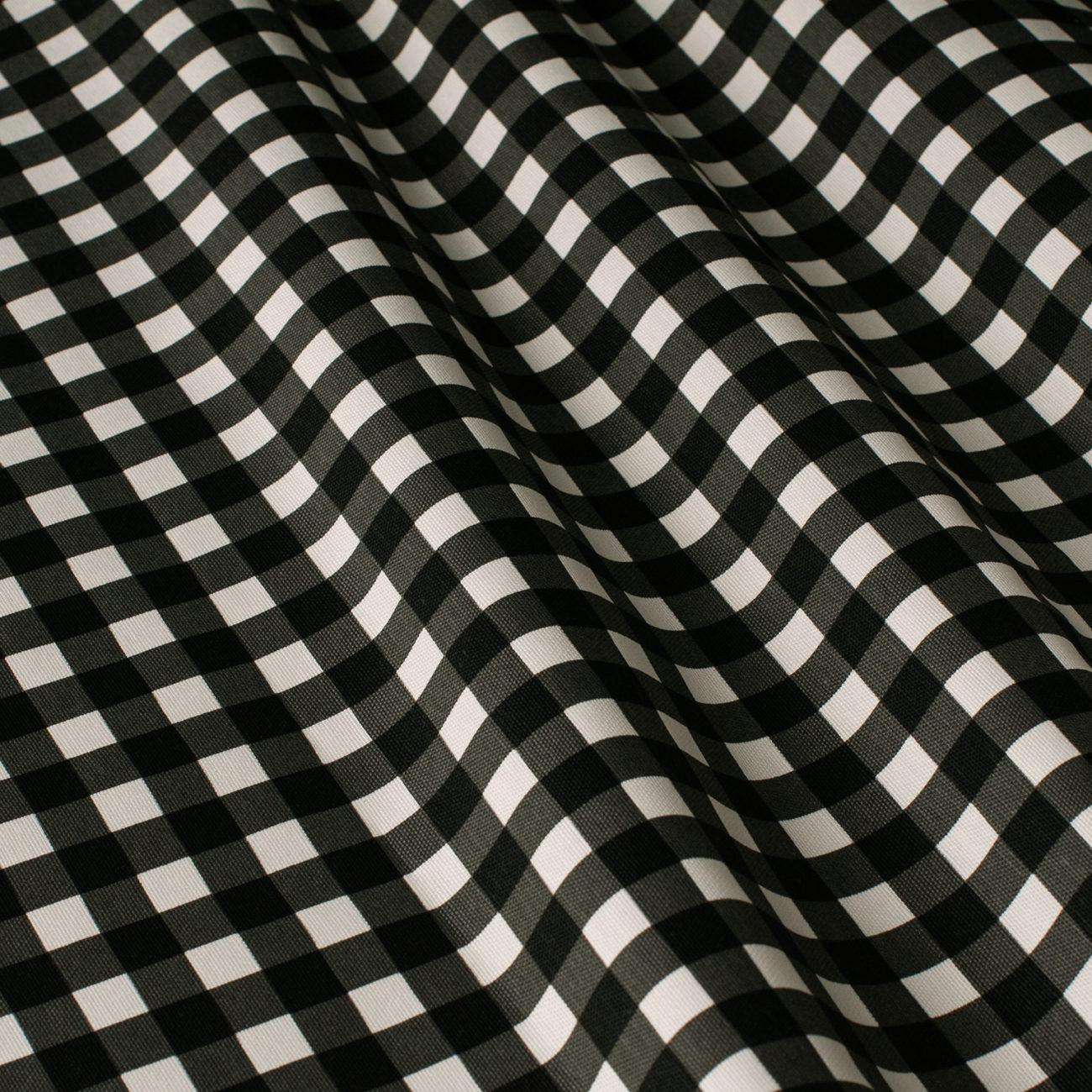Mantel BISTROT Negro ⬛ Cuadrado 8 Sillas