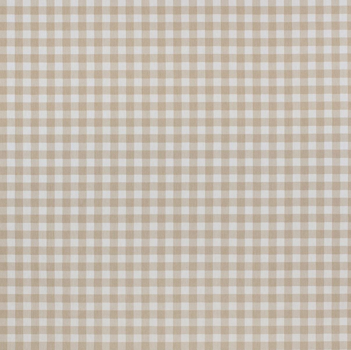 Mantel BISTROTBEIGE Cuadrícula1,3cm Rectangular 1,8x3,2 m [porconfeccionar] [listoen5·7días]