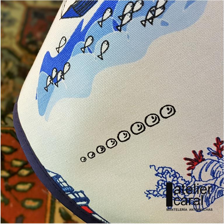 Mantel FARO Rectangular 1,5x2,1 m [enstockpara envíooretiro]