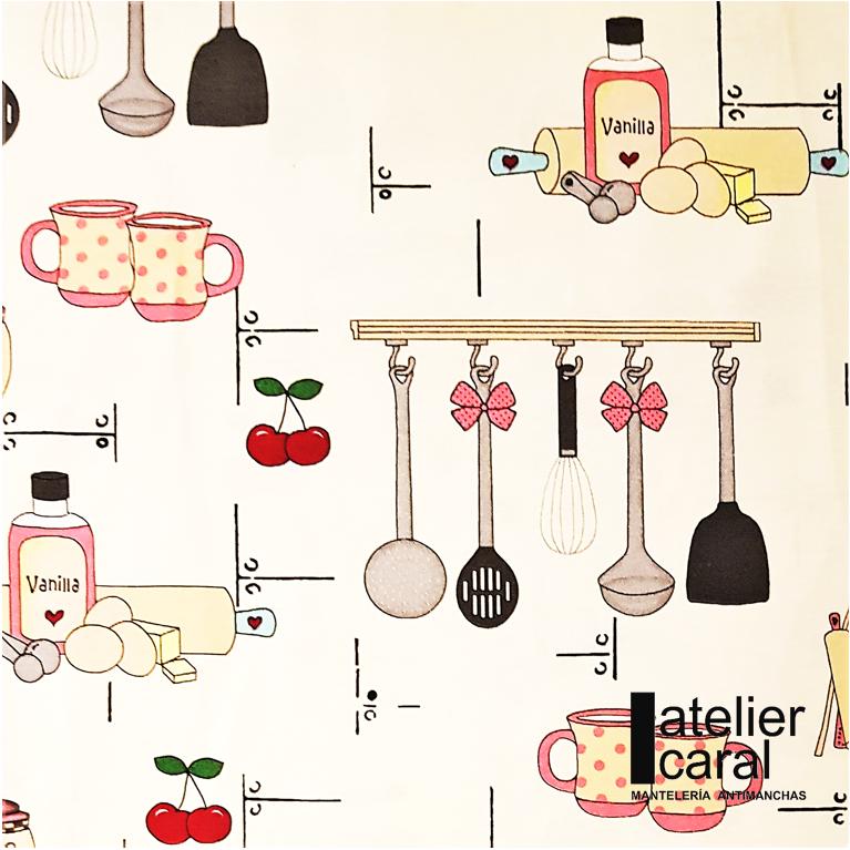 Mantel BAKERY ⚫ Redondo 6-8 Sillas