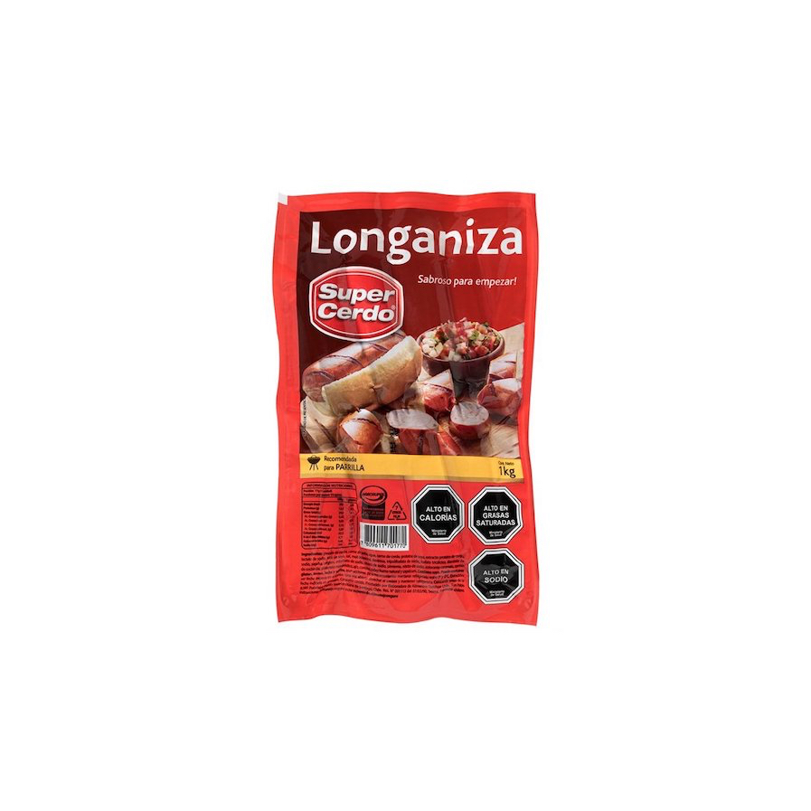 Longaniza Super Cerdo 1KG