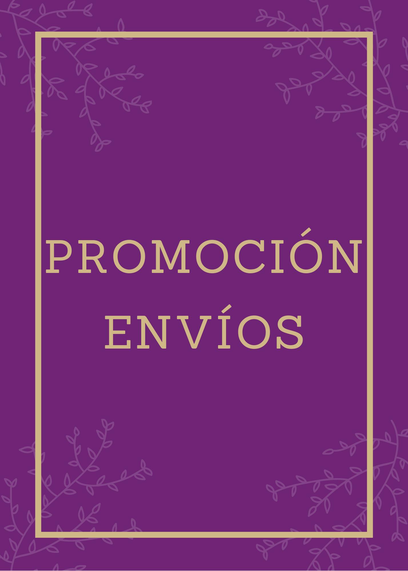 Promoción Envíos