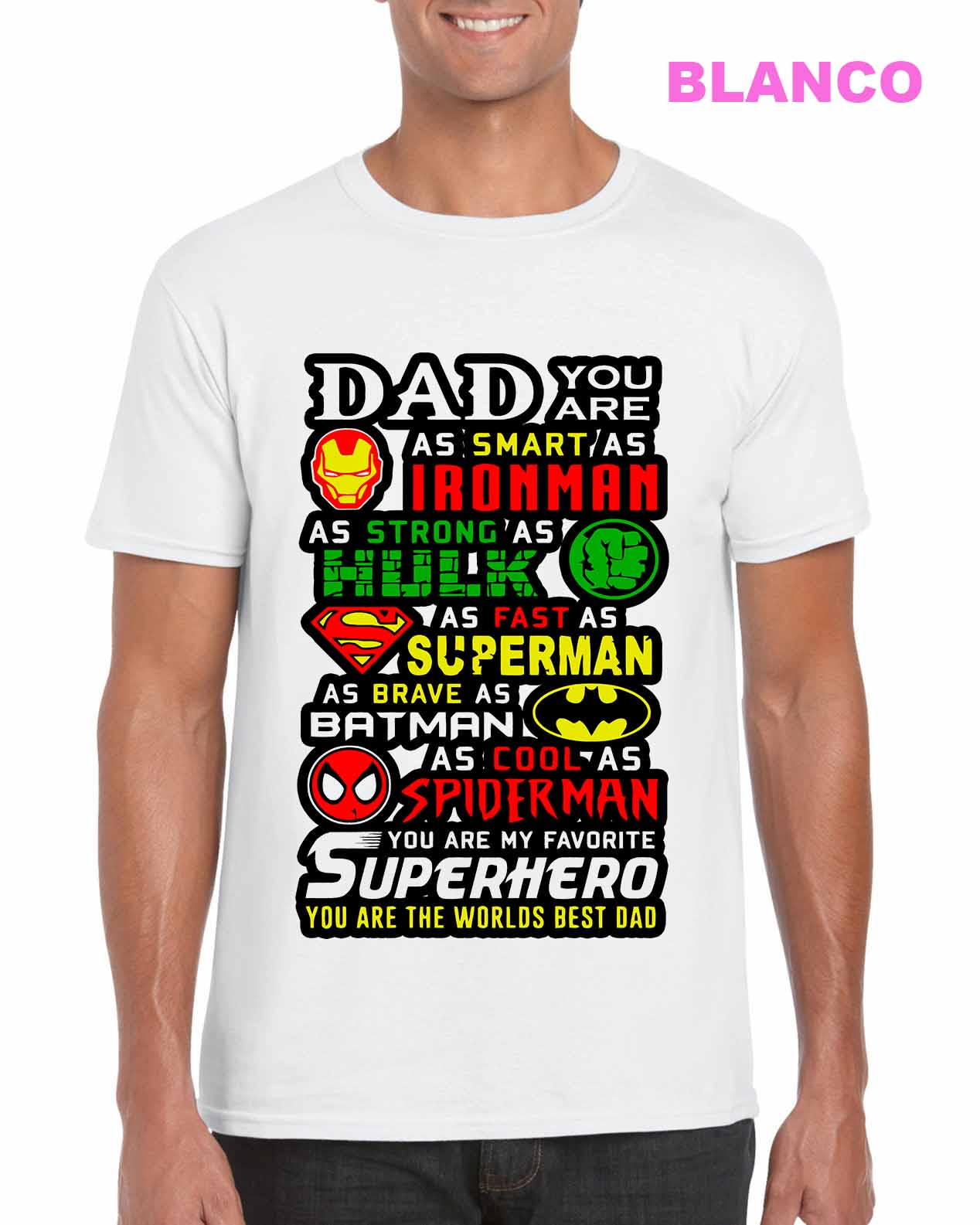 Dad Favorite Superhero