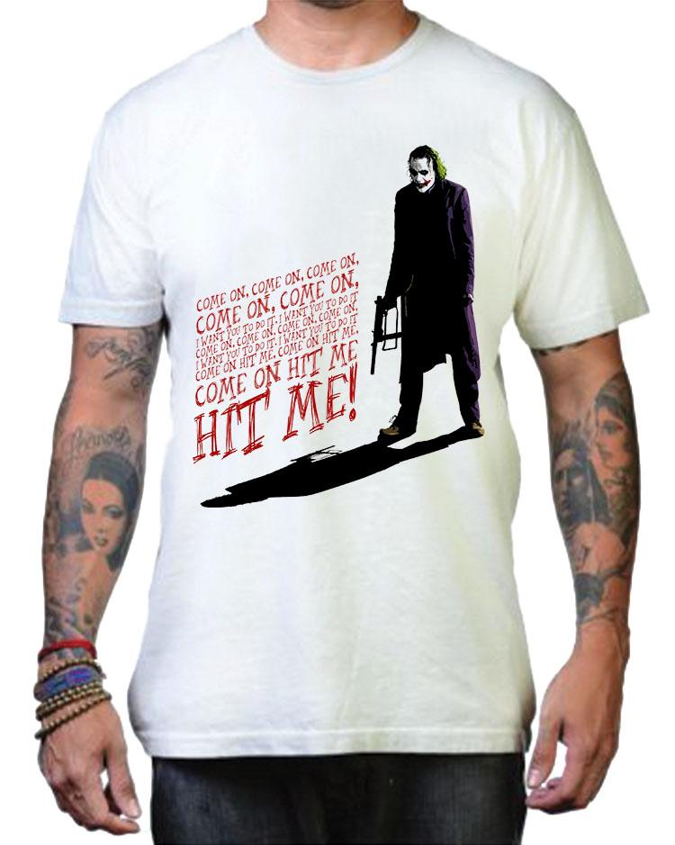 Joker Hit Me