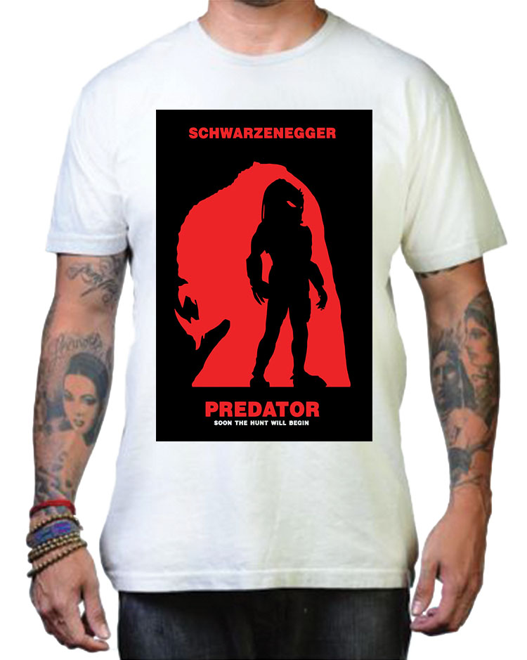 Predator Red Poster