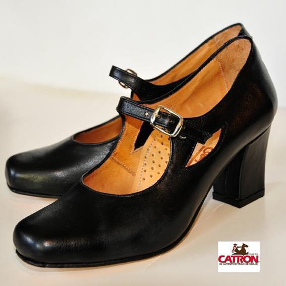 Zapato De China Negro