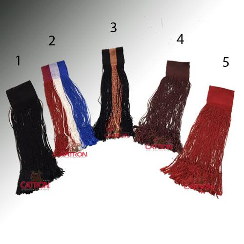 Flecos de seda dobles