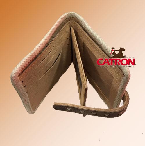 Billeteras costura cuyana