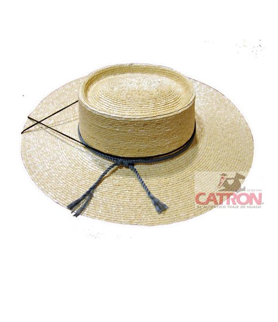 Chupalla De Paja Tradicional