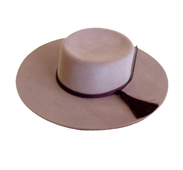 Sombrero Cordobés De Paño Para Dama Visón