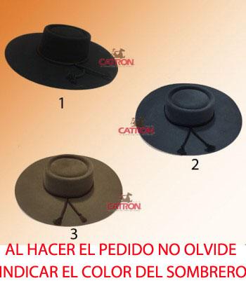 Sombrero Paño Adulto